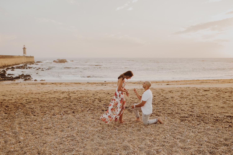 Destination Marriage Proposal in Porto