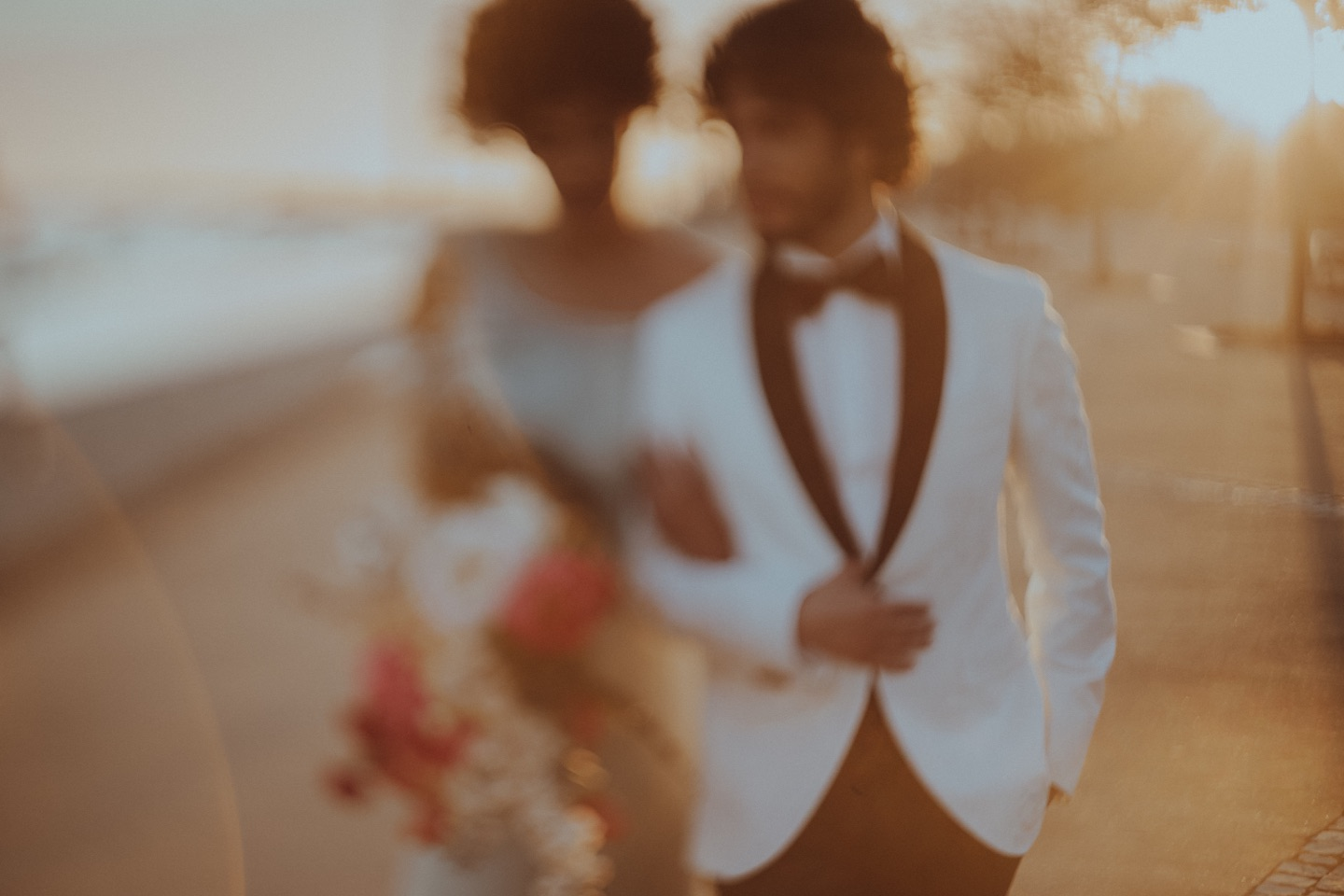 Portugal Wedding in Sunset